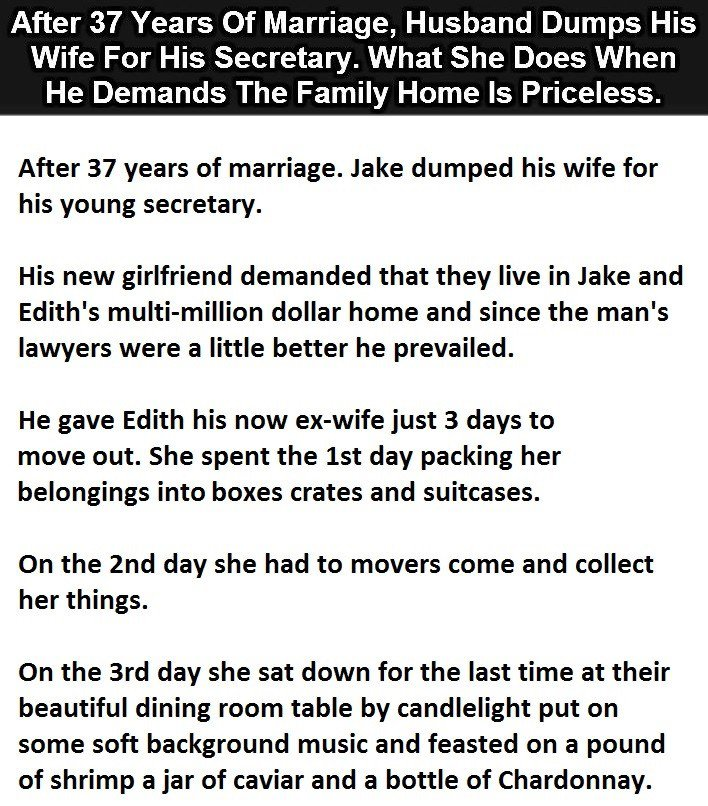 Cheating Wife Funny Meme : This man s wife just got the best revenge ever is