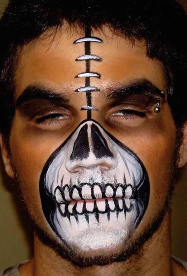 Photos You Have To Look At Twice Face Paint